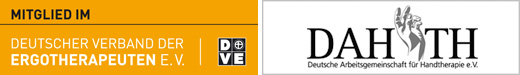 Logos des DVE und des DAHTH